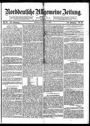 Norddeutsche allgemeine Zeitung vom 12.02.1907