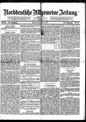 Norddeutsche allgemeine Zeitung vom 15.02.1907
