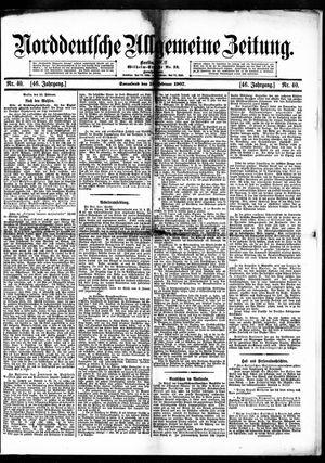 Norddeutsche allgemeine Zeitung vom 16.02.1907