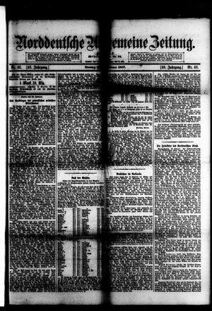 Norddeutsche allgemeine Zeitung vom 26.02.1907