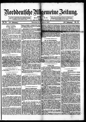 Norddeutsche allgemeine Zeitung vom 28.02.1907