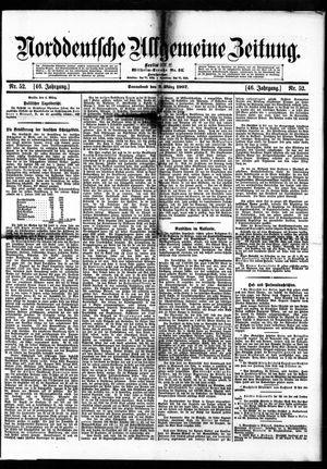 Norddeutsche allgemeine Zeitung vom 02.03.1907