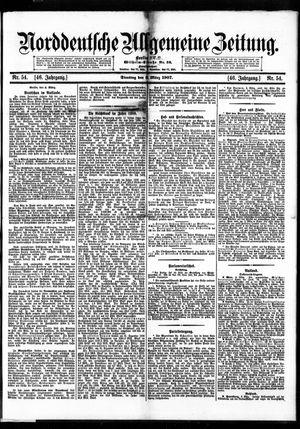 Norddeutsche allgemeine Zeitung vom 05.03.1907