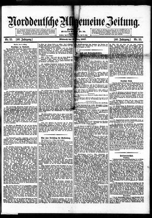 Norddeutsche allgemeine Zeitung vom 06.03.1907