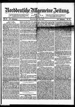 Norddeutsche allgemeine Zeitung vom 07.03.1907