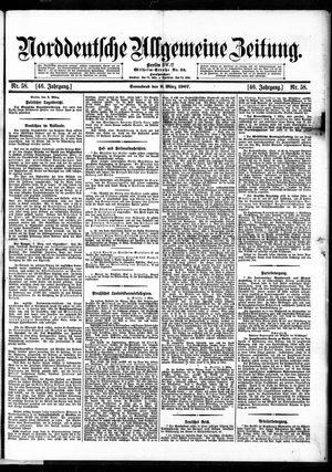 Norddeutsche allgemeine Zeitung on Mar 9, 1907