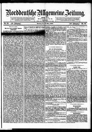 Norddeutsche allgemeine Zeitung vom 12.03.1907