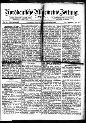 Norddeutsche allgemeine Zeitung vom 17.03.1907