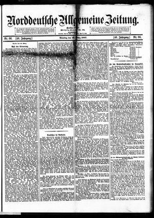 Norddeutsche allgemeine Zeitung vom 19.03.1907