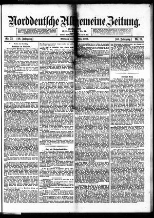 Norddeutsche allgemeine Zeitung vom 27.03.1907