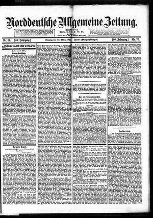 Norddeutsche allgemeine Zeitung vom 31.03.1907
