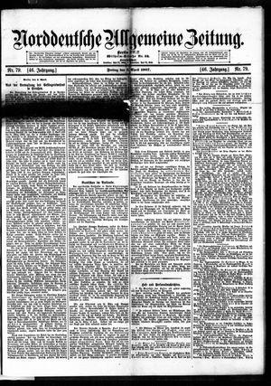 Norddeutsche allgemeine Zeitung vom 05.04.1907