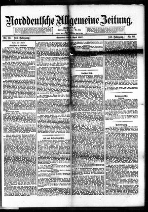 Norddeutsche allgemeine Zeitung vom 06.04.1907
