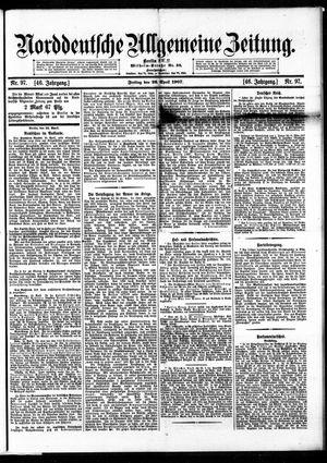 Norddeutsche allgemeine Zeitung vom 26.04.1907