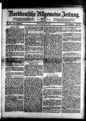 Norddeutsche allgemeine Zeitung vom 01.05.1907