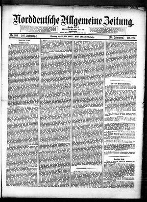 Norddeutsche allgemeine Zeitung vom 05.05.1907