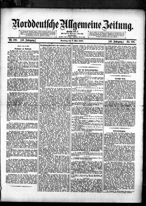 Norddeutsche allgemeine Zeitung vom 07.05.1907