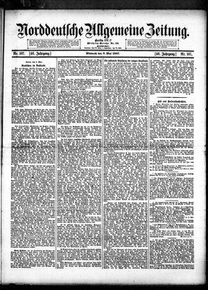 Norddeutsche allgemeine Zeitung vom 08.05.1907