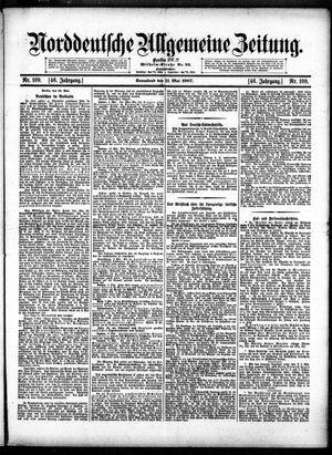 Norddeutsche allgemeine Zeitung vom 11.05.1907