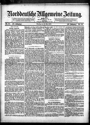 Norddeutsche allgemeine Zeitung vom 14.05.1907