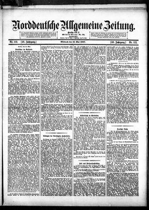 Norddeutsche allgemeine Zeitung vom 15.05.1907