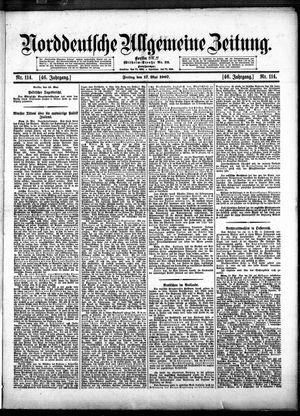 Norddeutsche allgemeine Zeitung vom 17.05.1907