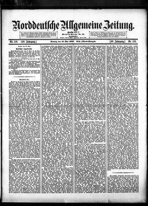 Norddeutsche allgemeine Zeitung vom 19.05.1907