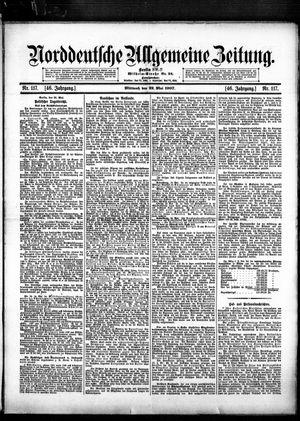Norddeutsche allgemeine Zeitung vom 22.05.1907