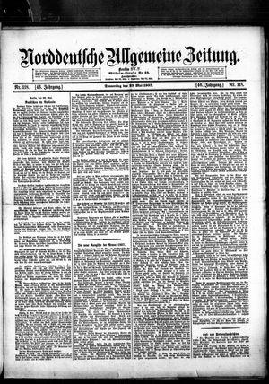 Norddeutsche allgemeine Zeitung on May 23, 1907
