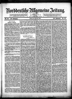 Norddeutsche allgemeine Zeitung vom 24.05.1907