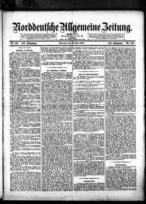 Norddeutsche allgemeine Zeitung vom 25.05.1907