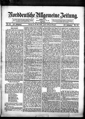 Norddeutsche allgemeine Zeitung on May 26, 1907