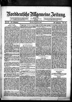 Norddeutsche allgemeine Zeitung on May 28, 1907