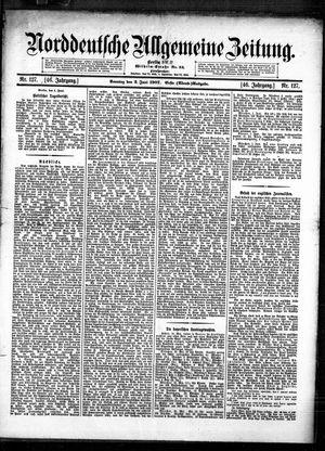 Norddeutsche allgemeine Zeitung vom 02.06.1907