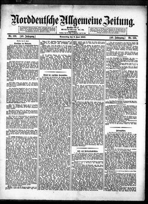 Norddeutsche allgemeine Zeitung vom 06.06.1907