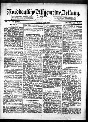 Norddeutsche allgemeine Zeitung vom 07.06.1907