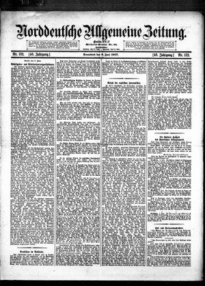 Norddeutsche allgemeine Zeitung vom 08.06.1907