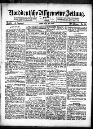Norddeutsche allgemeine Zeitung vom 11.06.1907