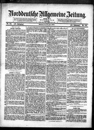 Norddeutsche allgemeine Zeitung vom 12.06.1907