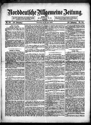 Norddeutsche allgemeine Zeitung vom 13.06.1907