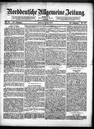 Norddeutsche allgemeine Zeitung vom 14.06.1907