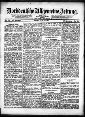 Norddeutsche allgemeine Zeitung vom 15.06.1907