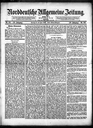 Norddeutsche allgemeine Zeitung vom 16.06.1907