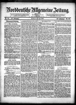 Norddeutsche allgemeine Zeitung vom 18.06.1907