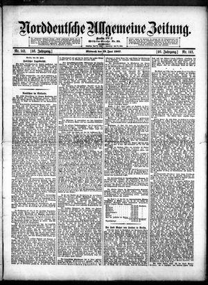 Norddeutsche allgemeine Zeitung vom 19.06.1907
