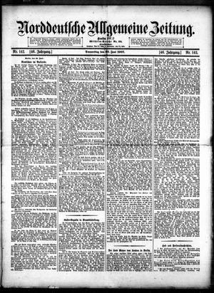 Norddeutsche allgemeine Zeitung vom 20.06.1907