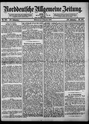 Norddeutsche allgemeine Zeitung (20.01.1910)