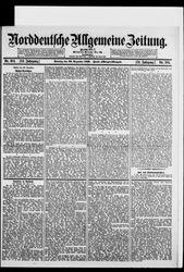 Norddeutsche allgemeine Zeitung (12.12.1912)