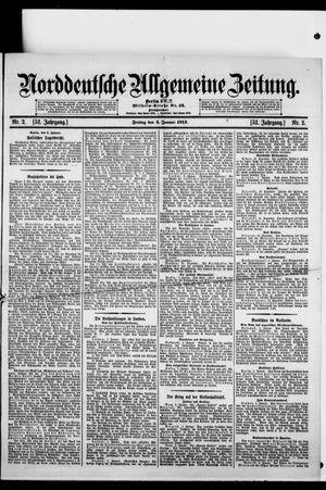 Norddeutsche allgemeine Zeitung vom 03.01.1913