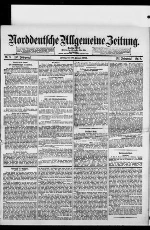 Norddeutsche allgemeine Zeitung vom 10.01.1913